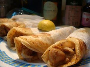 Nawab Snacks Bar- Gariahat - Rolls
