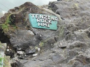 Tenzing and Gombu Rock