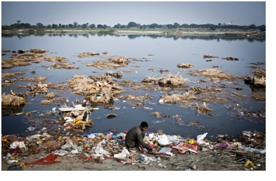 causes of yamuna pollution