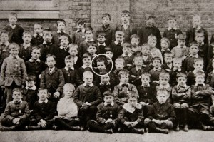 Went to boarding school for 'orphans and poor'
