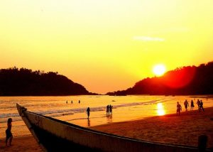 Palolem Beach Goa-Sunrise,Sunset,Sunrise & Sunset Point,India
