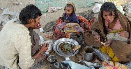 essay on poverty and hunger in india