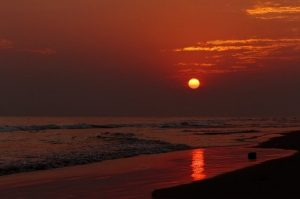 Puri Beach-Sunrise,Sunset,Sunrise & Sunset Point,India