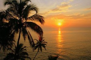 Varkala-Sunrise,Sunset,Sunrise & Sunset Point,India