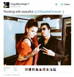 Urvashi Rautela,Mika Singh,KRK,Twitter,Getting Married