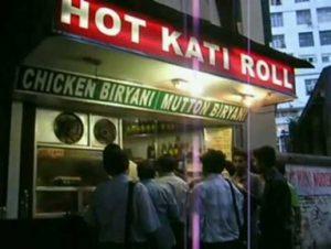 Hot Kati Roll Pak street