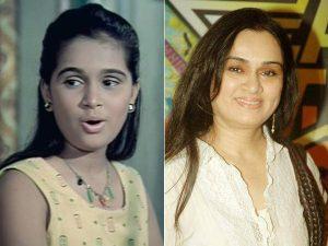 popular Child Actors in Bollywood- Padmini Kolhapure