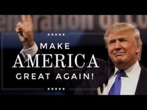 Trump's slogan